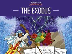 The Exodus Coloring Activity Book & Lesson Plans