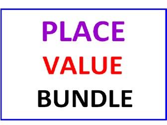 Place Value Bundle (4 Worksheets)