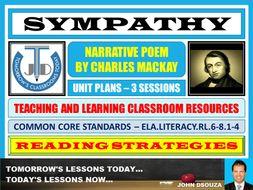 SYMPATHY BY CHARLES MACKAY - UNIT PLANS