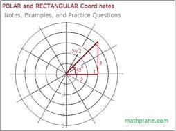 Trigonometry Polar and Rectangular Coordinates