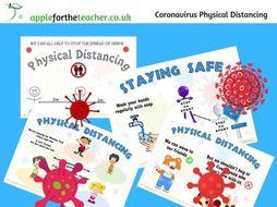 Coronavirus Social Distancing Posters for Children