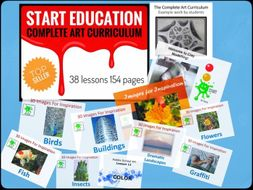 Complete Art Curriculum 2018-19 Preview
