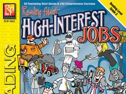 Reading About High-Interest Jobs (Reading Level 2)
