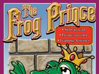 Frog Prince: Read & Color