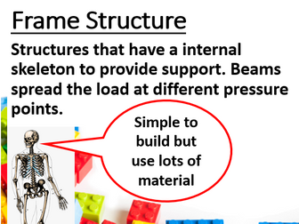 Forces & Different types of Structures Lesson and Activities (Construction/ Engineering)