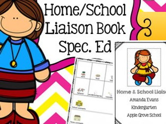 Home School Parent Communication Book