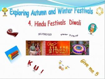 Exploring Festivals - Diwali