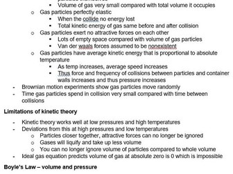 Gases and Kinetics | Pre-U Certificate in Chemistry 9791