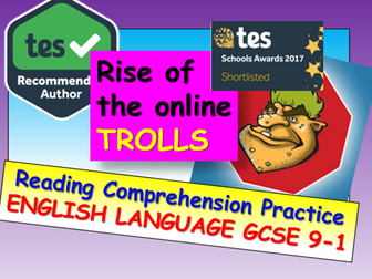 Reading Comprehension: Rise of the Online Trolls