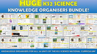 Huge KS2 Science Knowledge Organisers Bundle!
