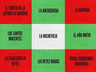 SPANISH CHRISTMAS PRESENTATION + 5 ACTIVITIES