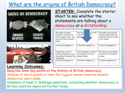 Democracy - Citizenship