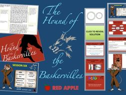 Hound of the Baskervilles KS3 (4) COMPLETE SoW with 350 slide ppt. and ALL RESOURCES included