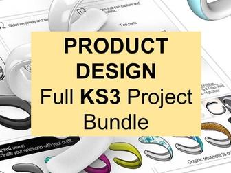 Full KS3 Product Design Project Bundle