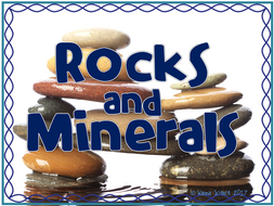 Rocks and Minerals Bundled Lesson