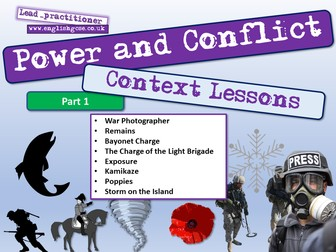 Power and Conflict Context Lessons