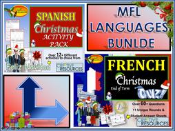 MFL Spanish French Christmas 2019