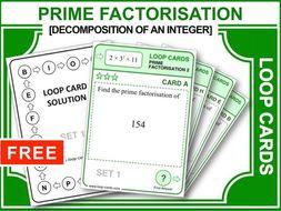 Prime Factors 2 (Loop Cards)