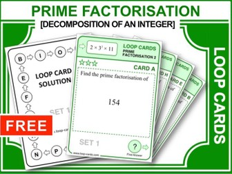 Prime Factors 2 (Loop Cards)