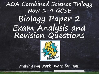AQA Combined Science Trilogy Biology Paper 2 Revision and 2019 Exam Support