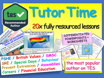 Tutor Time : Tutor Time Activities SMSC