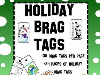 Holiday Brag Tags