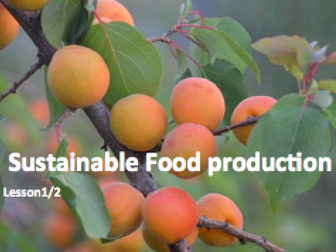 Sustainable Food Production and Climate Change