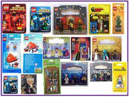 Lego Blister Packaging Unit of Work Handouts. Design and Technology KS3