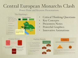 Central European Monarchs Clash Power Point and Keynote Presentations