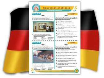 Kunst - German Speaking Activity