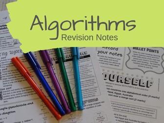 Algorithms Revision