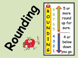 rounding display by dalesaxby teaching resources tes