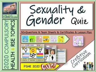 Sexuality + Gender Quiz
