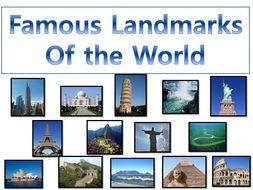Famous Landmarks of the World | KS1/KS2