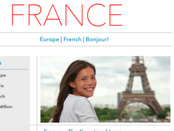 Discover France - Printable Worksheet