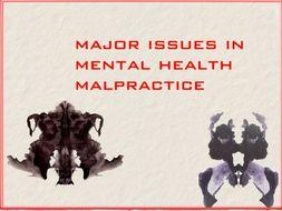 Psychiatry ~ Malpractice ~ Medical Law ~ DSM ~ Bogus Therapies ~ 73 Slides