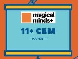 11+ CEM paper 1