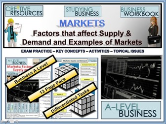 Supply and Demand - A Level Business