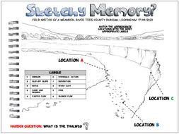 Geography Retrieval Practice: Sketchy Memory Meanders