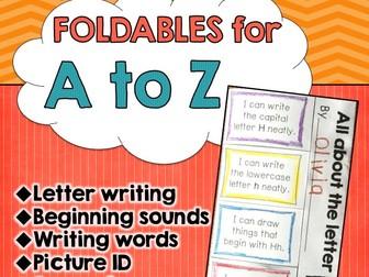 Alphabet Foldables