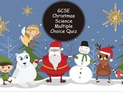 AQA GCSE Christmas Science Quiz