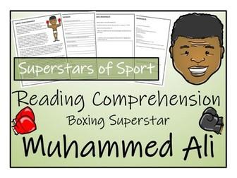 UKS2 Literacy - Muhammed Ali Reading Comprehension