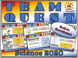 Science Team Quest  2020 - Team Building Quiz for KS3