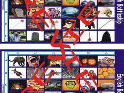 Halloween Battleship Board Game