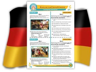 Sprachen - German Speaking Activity