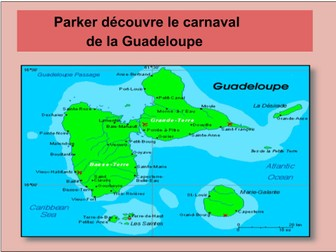 French story - Le carnaval de Guadeloupe - Mardi gras