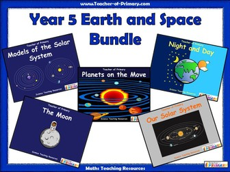 Year 5 Earth and Space Bundle