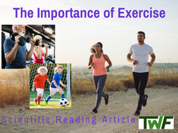 Exercise and its Importance for Health Reading