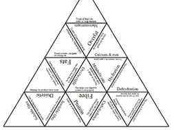 GCSE PE Edexcel 9-1 Diet & nutrition (1.3) Tarsia Triangle puzzle