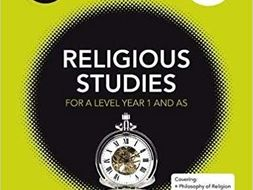 OCR A-level Religious Studies: Religion and Ethics PAPER 2 Notes